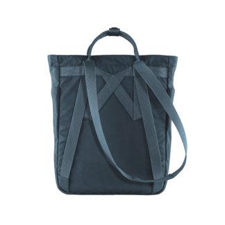 Синяя сумка Канкен сзади