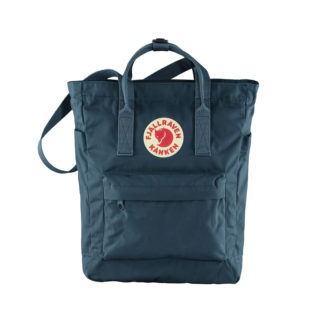 Синяя сумка Канкен спереди