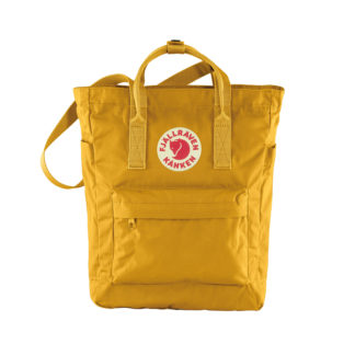 Желтая сумка Канкен спереди