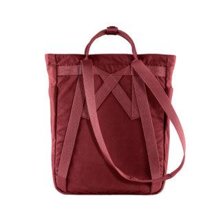 Бордовая сумка Канкен сзади