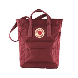 Бордовая сумка Канкен спереди